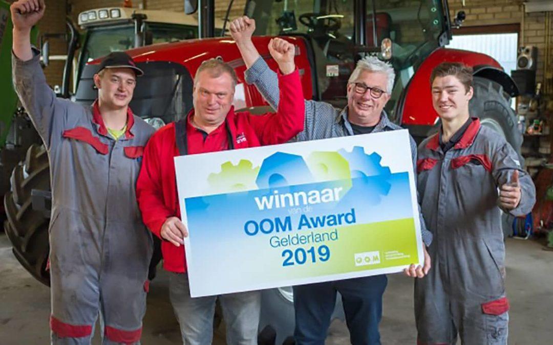 LMB Vorden winnaar OOM Award 2019