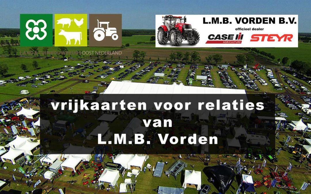 Relatiekaarten Land- en Tuinbouwbeurs Oost-Nederland - LMB Vorden